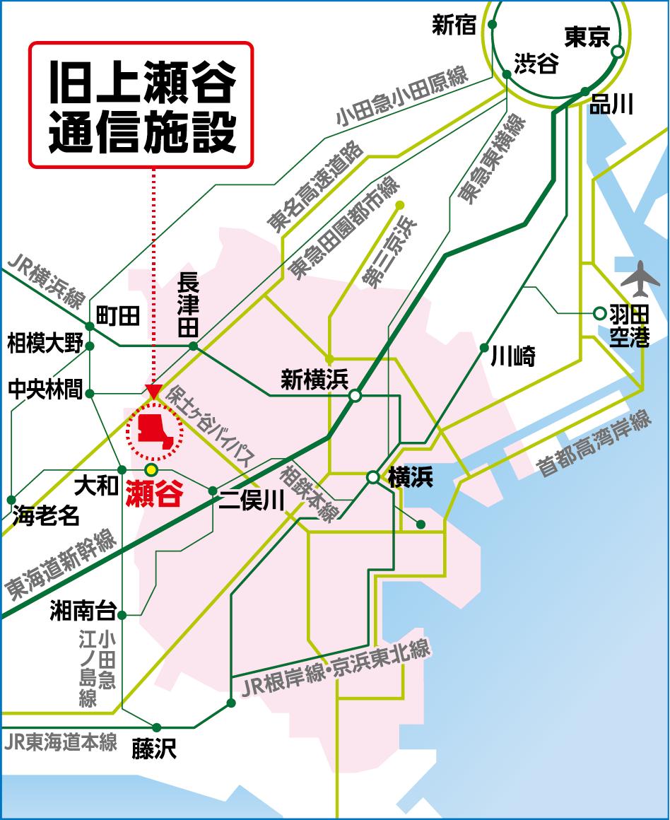 2027横浜国際園芸博覧会開催場所マップ